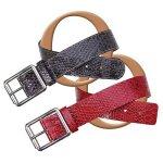 Snakeskin Belts